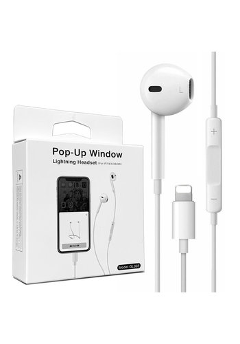 Plug and Play Bluetooth Lightning Earphones (GL069/P50)