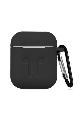 Silicone Case with Carabiner Clip for Airpods