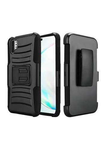 Armor Kickstand Holster Clip Case for Galaxy Note 10 Plus