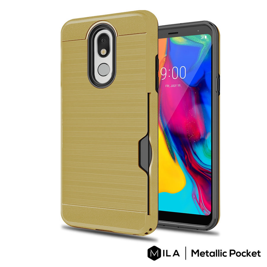 MILA | Metallic Pocket Case for LG Stylo 5