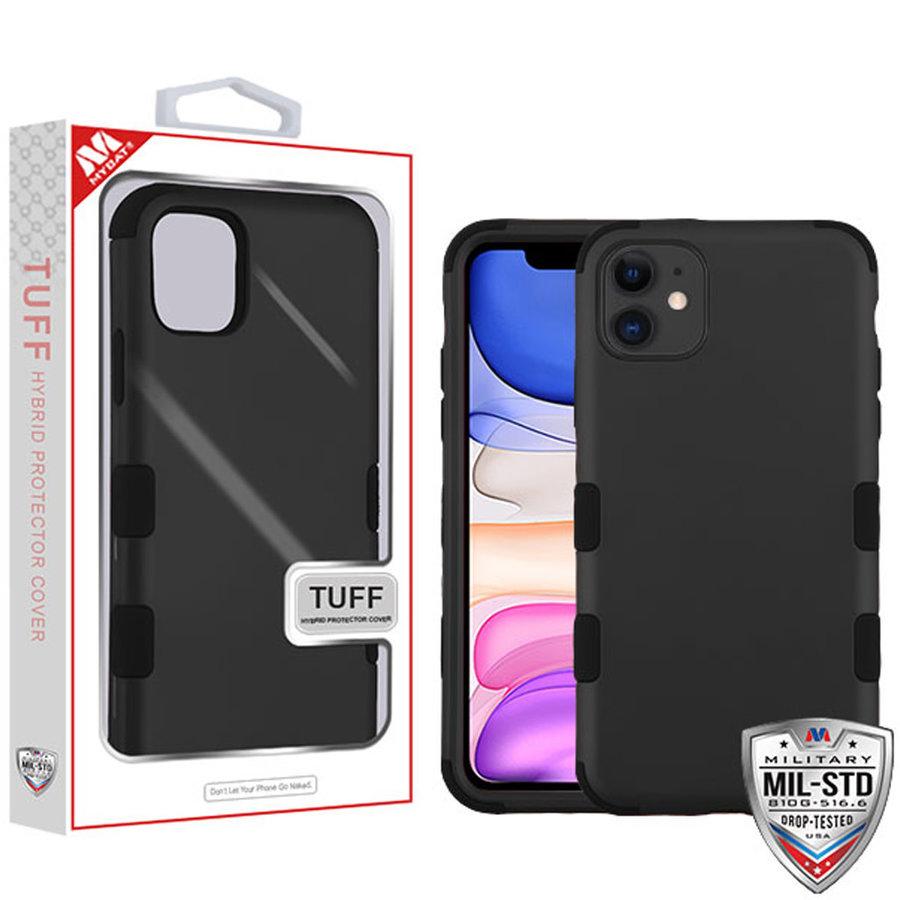 MYBAT TUFF Titanium Hybrid Protector Case [Military-Grade Certified] for iPhone 11