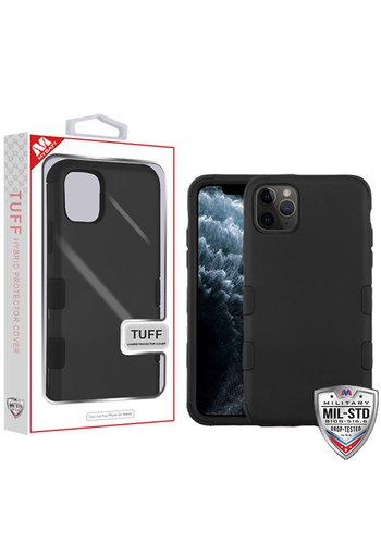 MYBAT TUFF Titanium Hybrid Protector Case [Military-Grade Certified] for iPhone 11 Pro Max