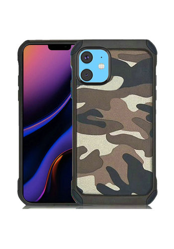 PC TPU Hard Bumper Case with Camouflage Design for iPhone 11