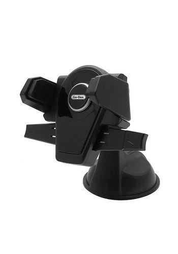 Go-Des Clip Grip Car Phone Holder / Mount (HD606)