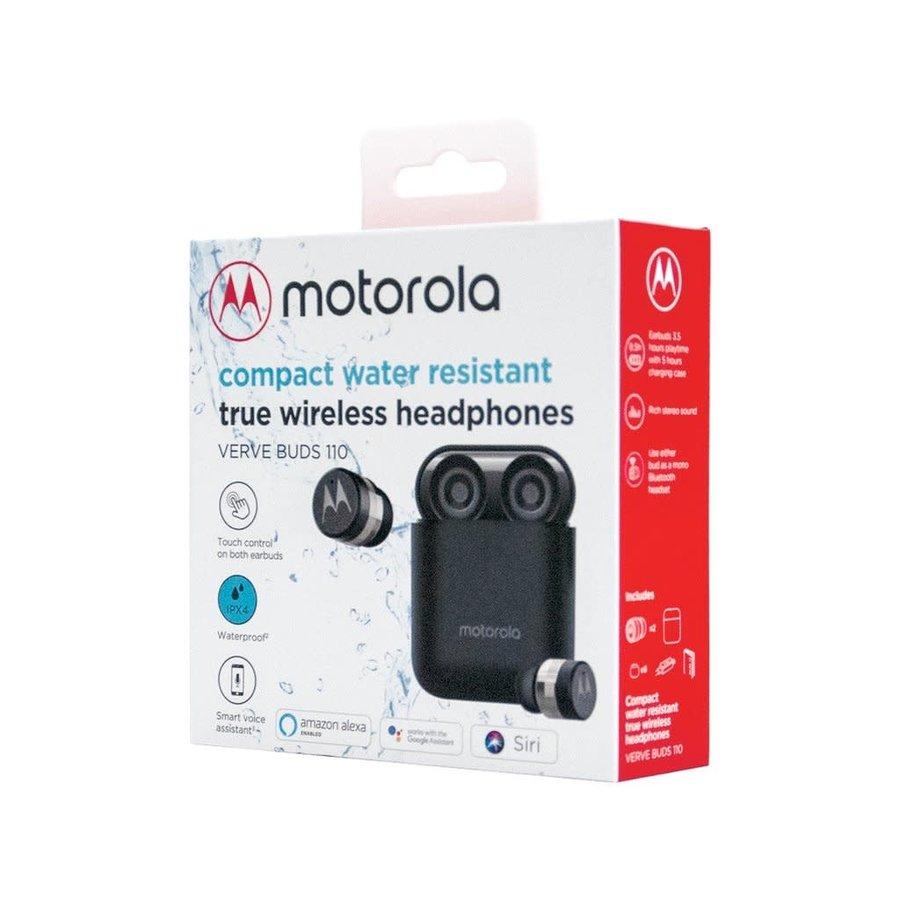 Motorola Verve Buds 110 Compact Water Resistant True Wireless Earphones