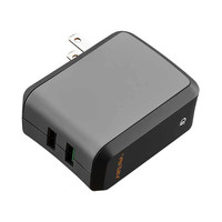 Ventev Wallport rq2300 Dual USB Qualcomm Quick Charge 3.0 Home Wall Charger Adapter