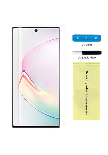 Nano UV Full Cover Tempered Glass for Galaxy Note 10 Plus - Single Pack