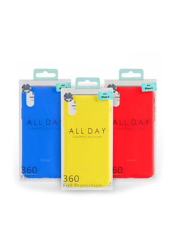 ROAR All Day Colorful Jelly Case for iPhone 11 Pro