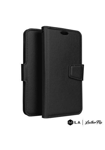 MILA | PU LeatherFlip Wallet Case for Motorola Moto E6