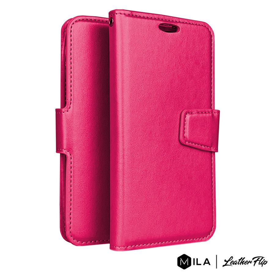 MILA   PU LeatherFlip Wallet Case for Alcatel 3V