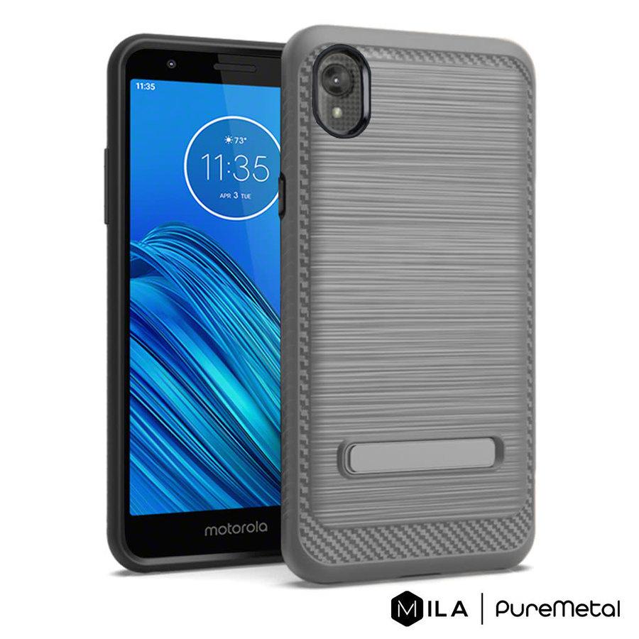 MILA   PureMetal Case for Motorola Moto E6