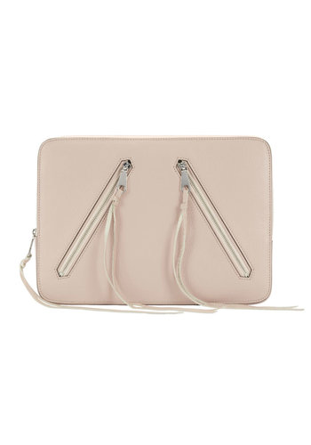 REBECCA MINKOFF Motto Sleeve Leather Laptop Sleeve 13 inch