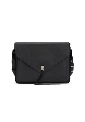 REBECCA MINKOFF Darren Sleeve Leather Laptop Bag 13 in