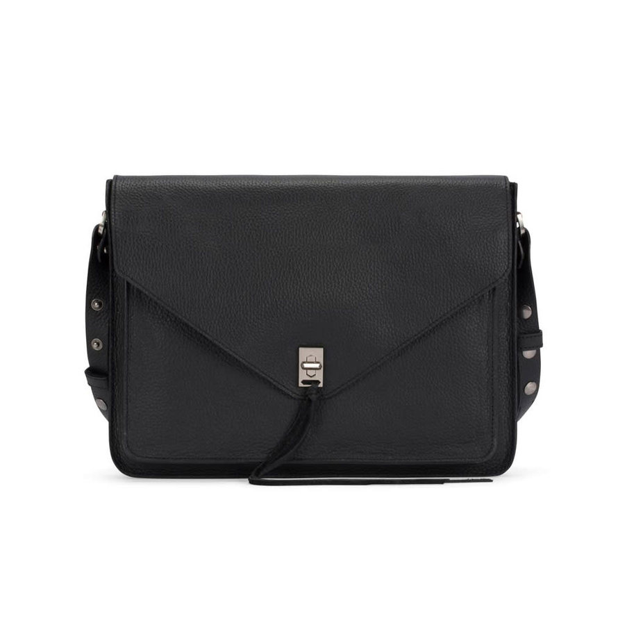 REBECCA MINKOFF Darren Sleeve Leather Laptop Bag 13 in