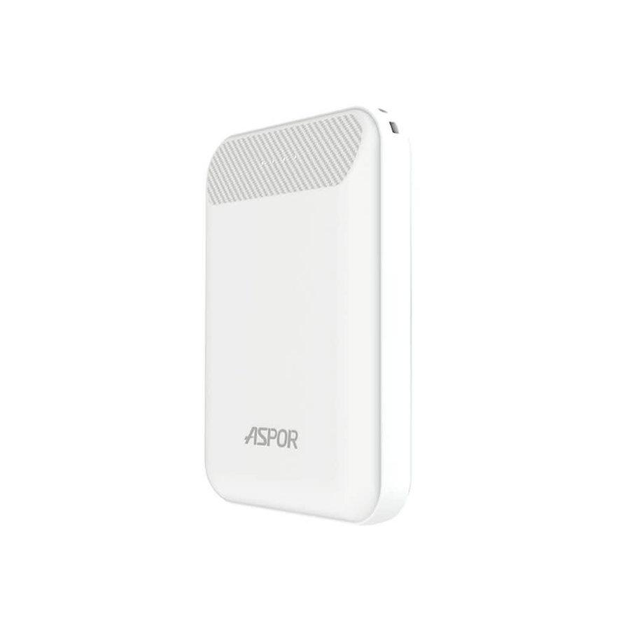 Aspor 10,000 mAh Power Bank with Dual Ports USB (A328)