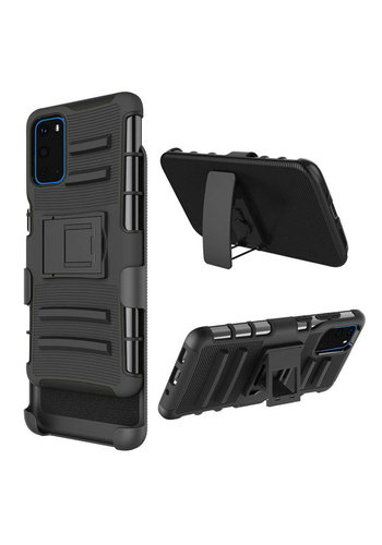 Armor Kickstand Holster Clip Case for Galaxy S20