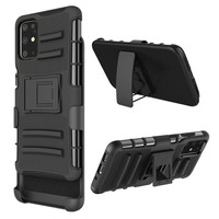 Armor Kickstand Holster Clip Case for Galaxy S20 Plus