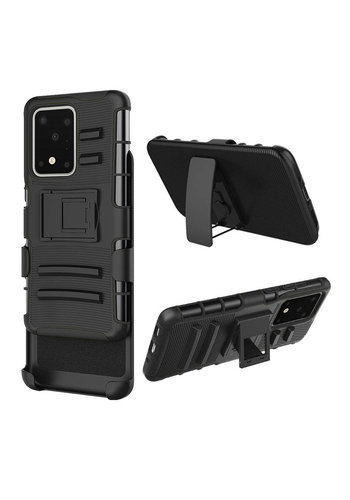 Armor Kickstand Holster Clip Case for Galaxy S20 Ultra