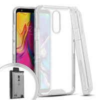 New Mobile Transparent TPU PC Hybrid Case for LG Stylo 5