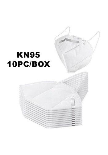 KN95 Antibacterial Carbon Filter Mask Pack (10pcs)