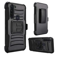 Armor Kickstand Holster Clip Case for Motorola Moto G Stylus