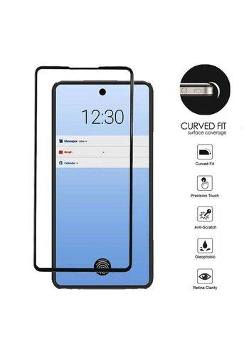 4D Full Cover Tempered Glass for LG Stylo  6