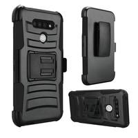 Armor Kickstand Holster Clip Case for LG Stylo 6