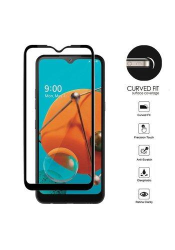 4D Full Cover Tempered Glass for LG K51