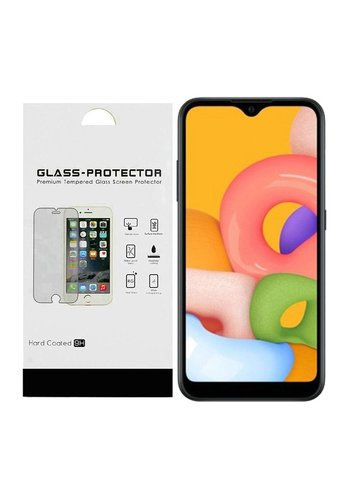Premium Tempered Glass for Galaxy A01 - Single Pack