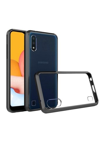 Ultra Slim Clear Hard Fused PC+TPU Case for Galaxy A01