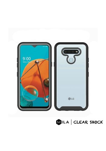 MILA | Clear Shock Case for LG K51