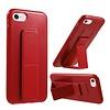 Premium PC TPU Foldable Magnetic Kickstand Case for iPhone SE (2020) / 8 / 7 / 6