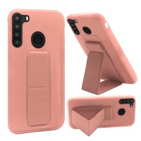Premium PC TPU Foldable Magnetic Kickstand Case for Galaxy A21