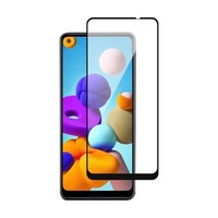 4D Full Cover Tempered Glass for Galaxy A21
