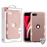 MYBAT TUFF Titanium Hybrid Protector Case [Military-Grade Certified] for iPhone SE (2020)