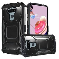 Hybrid Shockproof Armor Cover Case with Magnetic Back-Plate for LG Aristo 5