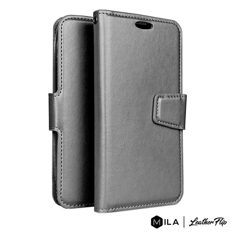 MILA | PU LeatherFlip Wallet Case for LG K51