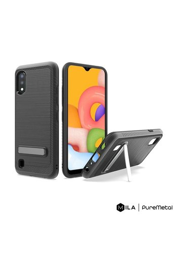 MILA | PureMetal Case for Galaxy A01