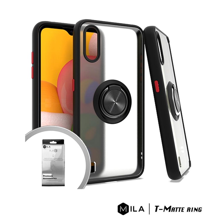 MILA | T-Matte Ring Case for Galaxy A01