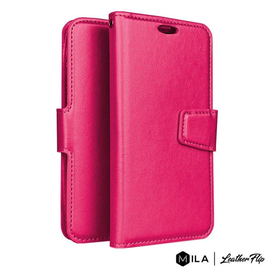 MILA   PU LeatherFlip Wallet Case for LG Aristo 5