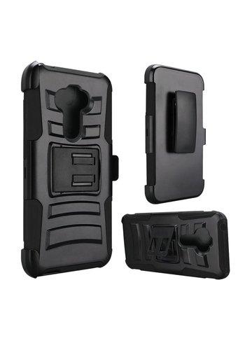 Armor Kickstand Holster Clip Case for LG Aristo 5
