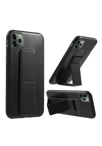 Premium PC TPU Foldable Magnetic Kickstand Case for iPhone 11 Pro Max
