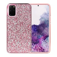 Hybrid PC TPU Deluxe Glitter Diamond Electroplated Case for Galaxy S20 Ultra