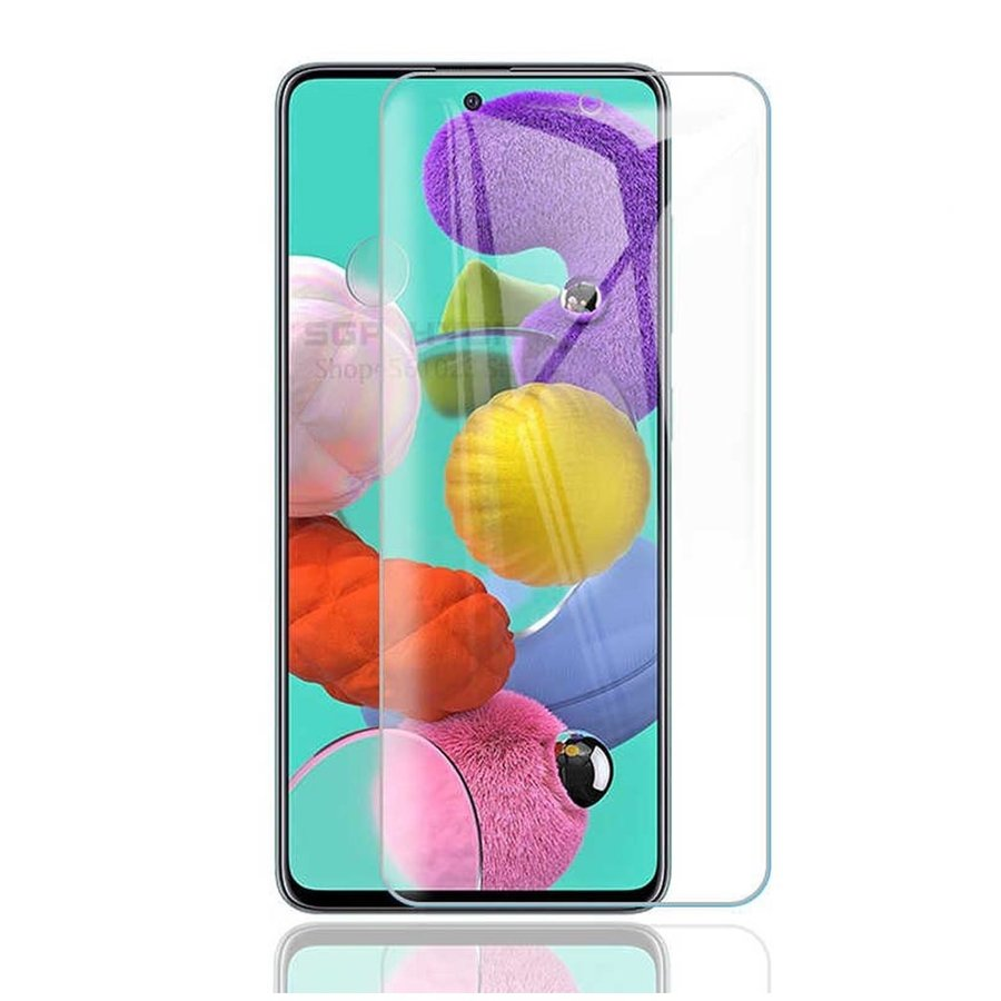 Premium Tempered Glass for Galaxy A51 - Single Pack