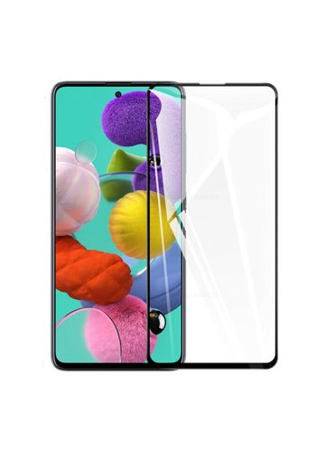 4D Full Cover Tempered Glass for Galaxy A51