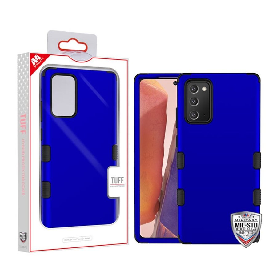 MYBAT TUFF Titanium Hybrid Protector Case [Military-Grade Certified] for Galaxy Note 20