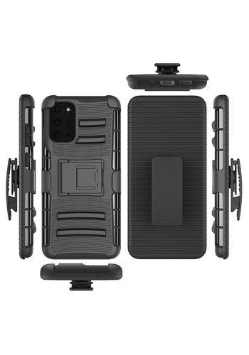 Armor Kickstand Holster Clip Case for Galaxy Note 20