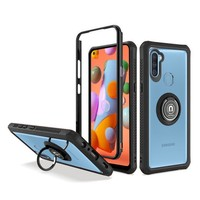 Heavy Duty Shockproof Bumper Case with Mag-Ring for Galaxy A11