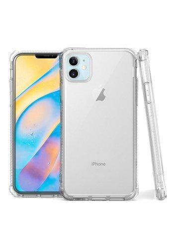 JLW WUW | Crystal Clear PC+TPU Gel Case for iPhone 12 Mini