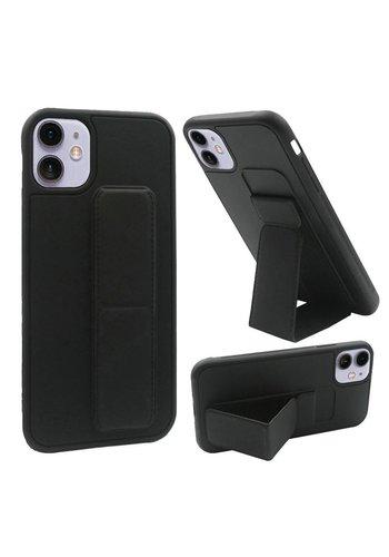 Premium PC TPU Foldable Magnetic Kickstand Case for iPhone 12 Mini